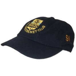 Stock Embroidered Traditional Cricket Caps