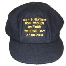 Personalised Baggy Cricket Cap