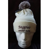 Embroidered Baggies Bobble Hats and Beanies