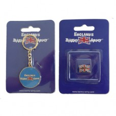 Barmy Army Badge and Key Ring