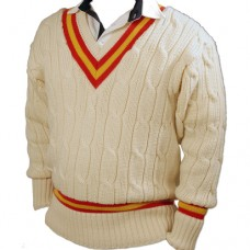 Made To Order Long Sleeve Cricket Sweater (Acrylic)