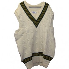 Made To Order Sleeveless Cricket Sweater/Slipover (Acrylic)