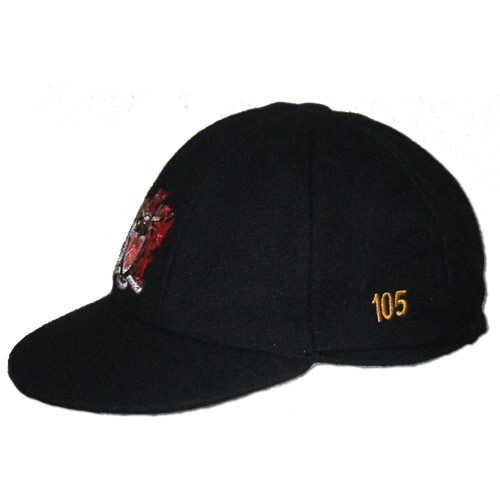 Made To Order Embroidered Traditional English Cricket Cap