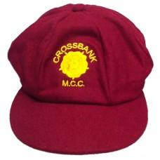 Crossbank Meths CC Baggies Maroon Baggy Cap