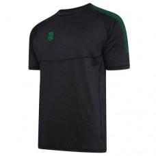 Kegworth Town CC Dual Black/Bottle Green Gym Shirt