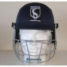 Grace Dieu Park CC Badged Cricket Helmet (Includes Neck Protector)