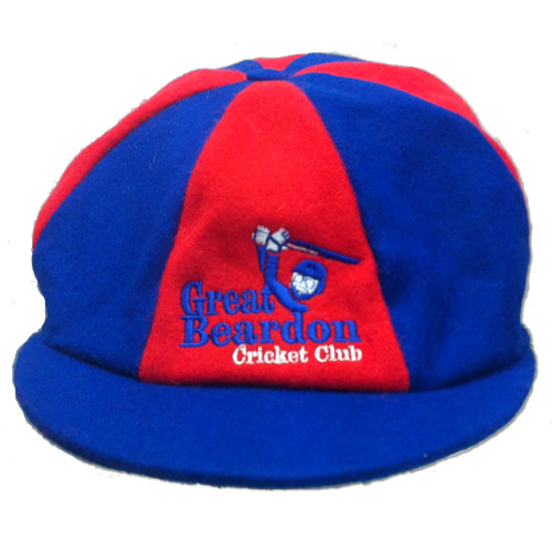 ... Made to Order Embroidered Baggy Cricket Cap 8422bd9e27fd