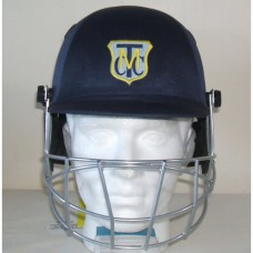 Melbourne Town CC Badged Cricket Helmet (Includes Neck Protector)