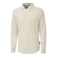 Darley Abbey CC Long Sleeve Cricket Shirt (White Trim)