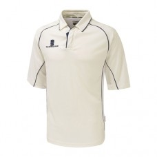 Derbyshire Disabled CC 3/4 Sleeve Cricket Shirt (Navy Trim)