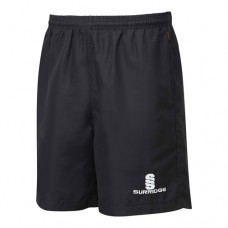 Nuneaton CC Black Ripstop Training Shorts