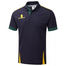 Hartshorne CC Blade Navy/Bottle/Amber Polo Shirt