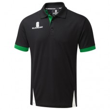 Nuneaton CC Blade Black/Emerald/White Polo Shirt