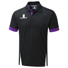 Nuneaton CC Blade Black/Purple/White Polo Shirt