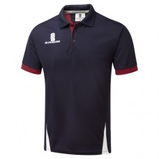 Kings Bromley CC Blade Polo Navy/Maroon/White