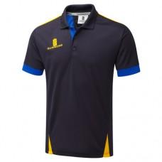 Melbourne Town CC Blade Navy/Royal/Amber Polo Shirt
