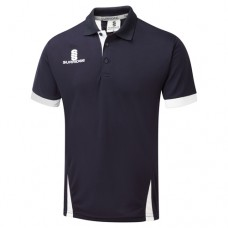 Derbyshire Disabled CC Blade Navy Polo