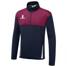 Merton CC Blade Navy/Maroon/White Performance Training Top