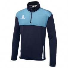 Winshill CC Blade Navy/Sky/White Performance Training Top