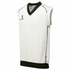 Yoxall CC Sleeveless Cricket Sweater (Green Trim)