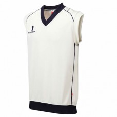 Byfield CC Sleeveless Cricket Sweater (Navy Trim)