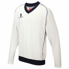 Byfield CC Long Sleeve Cricket Sweater (Navy Trim)