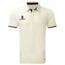 Merton CC ERGO Cricket Shirt (Adult- Maroon Trim)