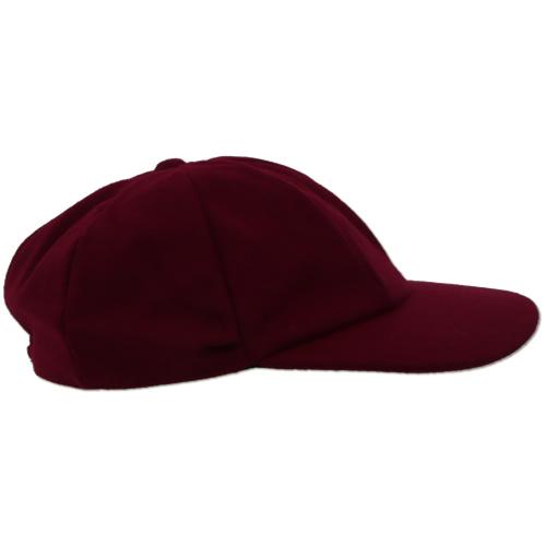 Maroon Traditional Cricket Cap