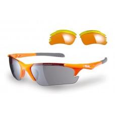 Sunwise Twister Orange Sunglasses